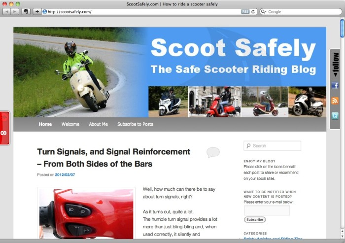 Ride safe with ScootSafely.com