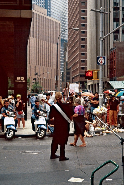 Photo: NYPD on Scooters in 1971
